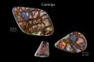 Liamuiga - 38,55 cts und 17,75 cts - 37 x 21 x 7mm und 25 x 17 x 6mm